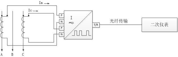 dt数字变送器与电流互感器接线图