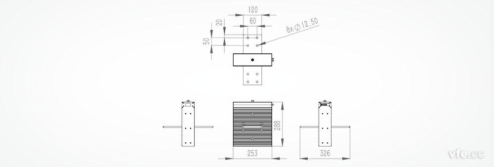 dp800数字功率计与互感器接线图