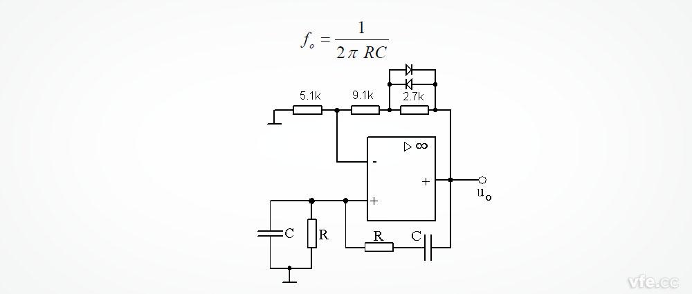 文氏桥振荡器的工作原理
