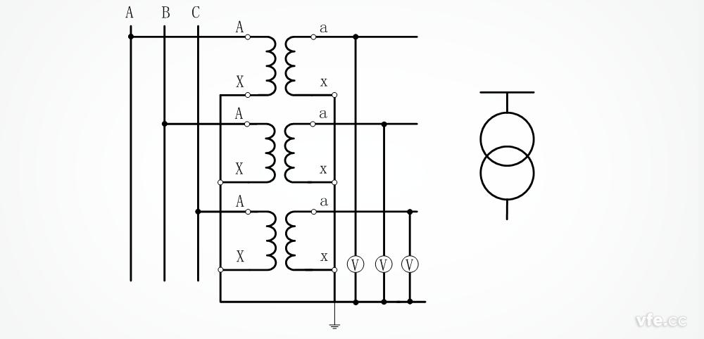 非常实用的电压互感器接线方式