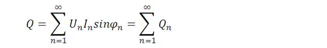 位移无功功率计算公式
