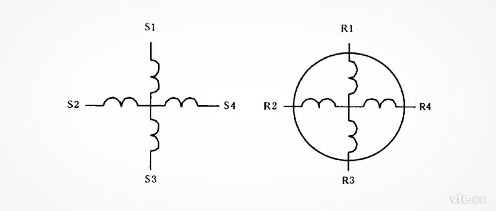 旋转变压器电气原理图