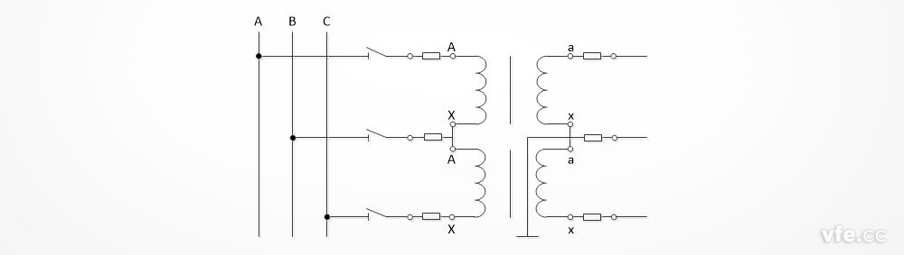 dt数字变送器与电压互感器接线图