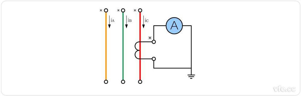 1单台电流互感器接线图