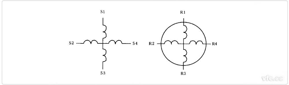 正余弦旋转变压器电气原理图
