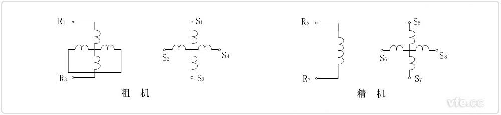双通道旋转变压器电气原理图