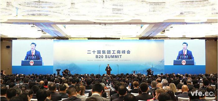 2016 年G20峰会在杭州举行,习近平主席主持开幕式