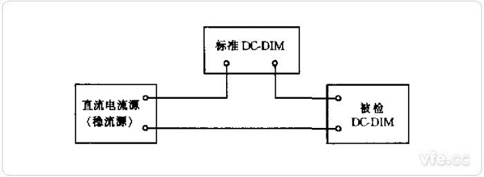 比较法校准直流数字电流表